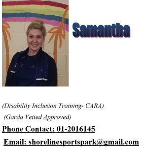 Disability Officer Samantha